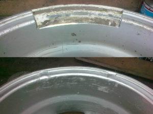 Сварка диска в среде аргона