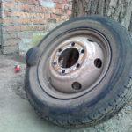 ремонт большой шишки на колесе